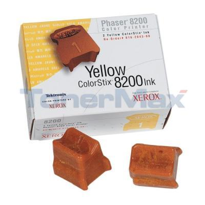 XEROX 8200 INK COLORSTIX YELLOW